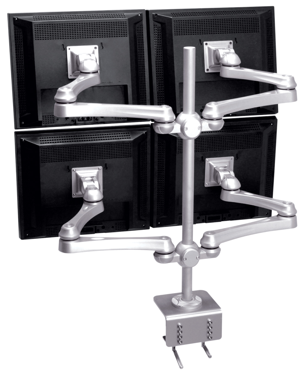 Desk Monitor Stand - Quad Monitor Arm LA-517-1